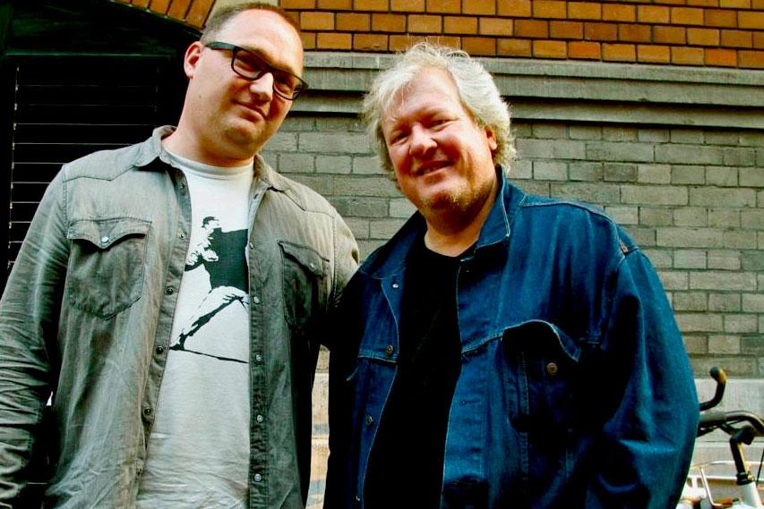 Chris Frantz en Frank Veldkamp